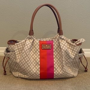Kate Spade Canvas Diaper Bag